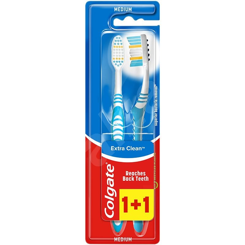 COLGATE Extra Clean multipack 1+1 - Fogkefe