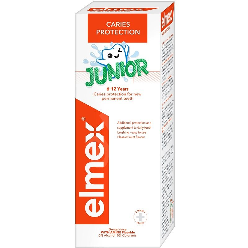 ELMEX Junior 400 ml - Szájvíz