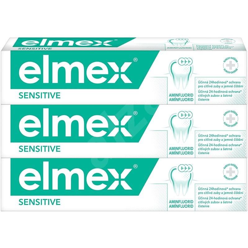 ELMEX Sensitive 3 x 75 ml - Fogkrém