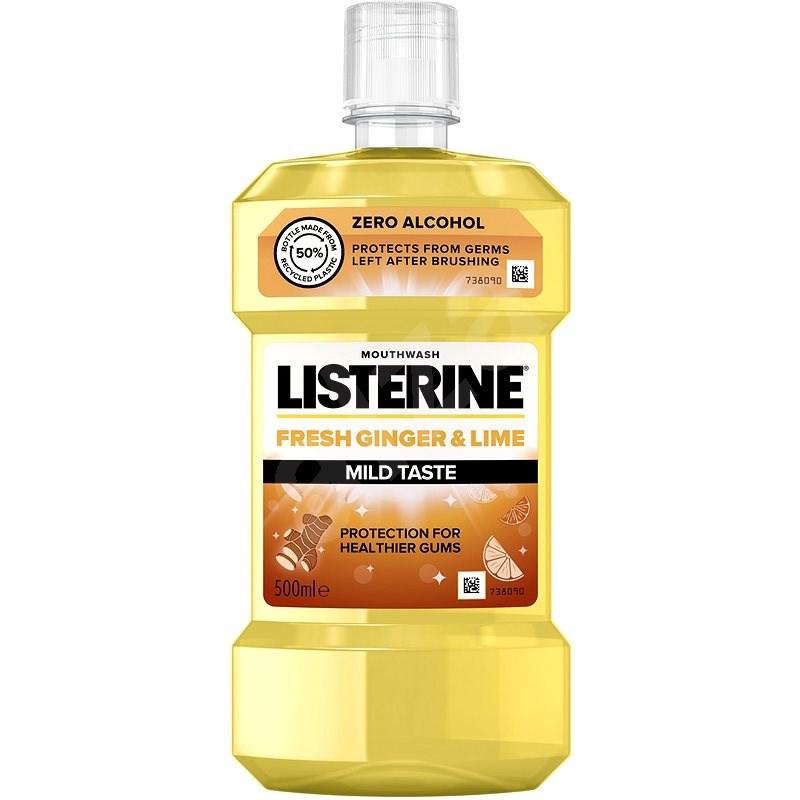 LISTERINE Fresh Ginger & Lime Mild Taste 500 ml - Szájvíz