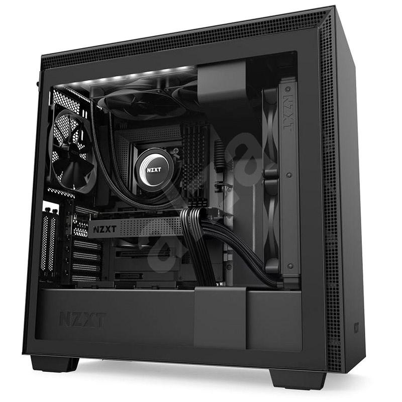 NZXT H710i Matte Black - Számítógépház