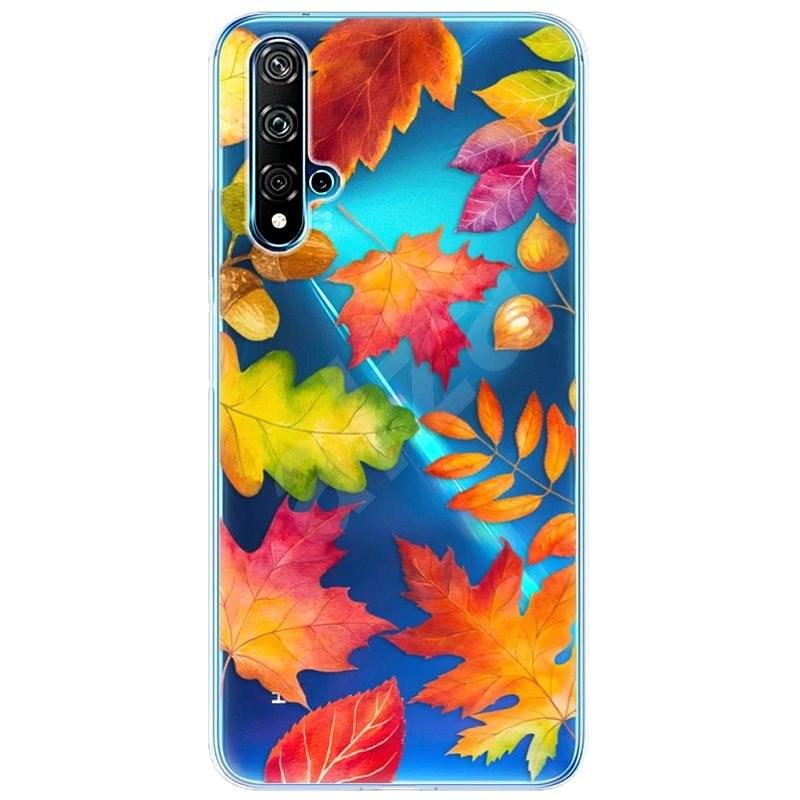 iSaprio Autumn Leaves Huawei Nova 5T készülékhez - Mobiltelefon hátlap