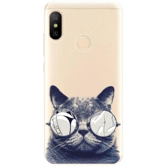 iSaprio Crazy Cat 01 Xiaomi Mi A2 Lite készülékhez - Mobiltelefon hátlap