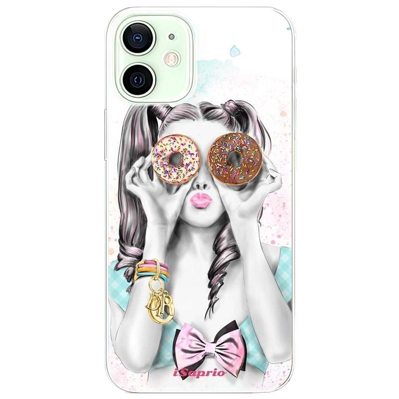 iSaprio Donuts 10 iPhone 12 készülékhez - Mobiltelefon hátlap