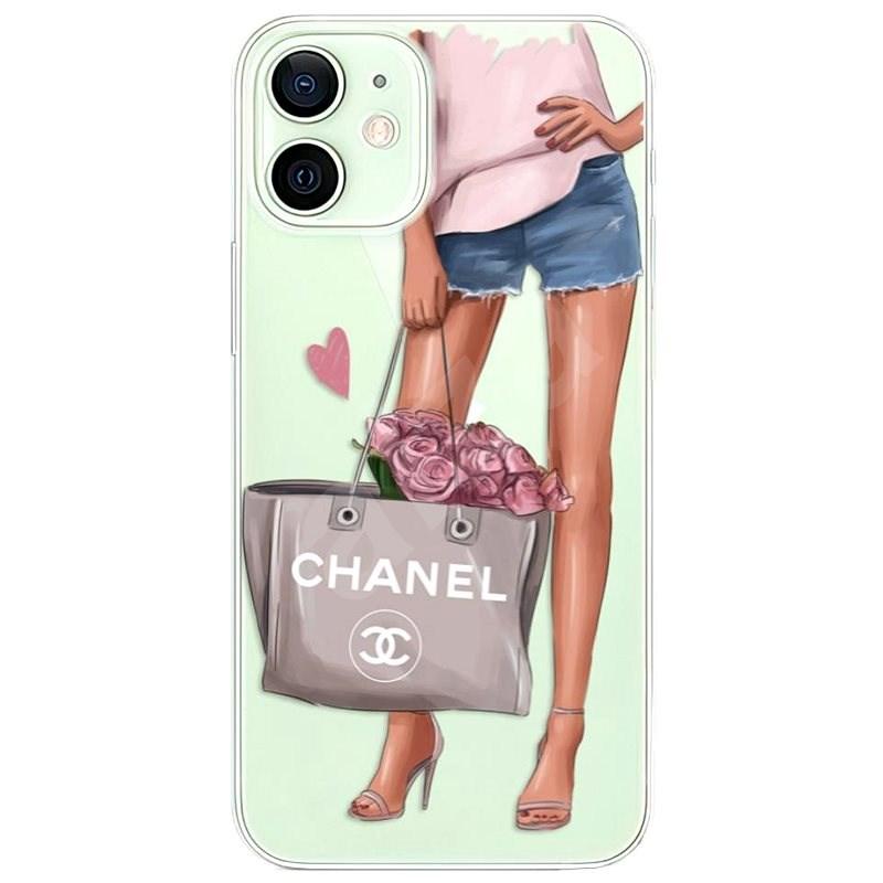 iSaprio Fashion Bag iPhone 12 mini készülékhez - Mobiltelefon hátlap