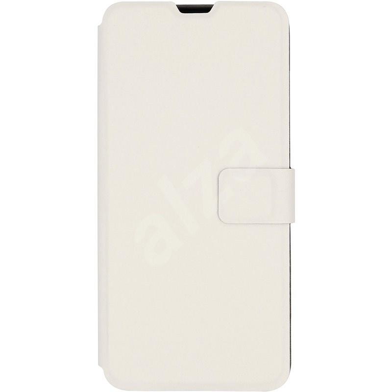 iWill Book PU Leather Case Xiaomi Redmi Note 8 Pro készülékhez - White - Mobiltelefon tok