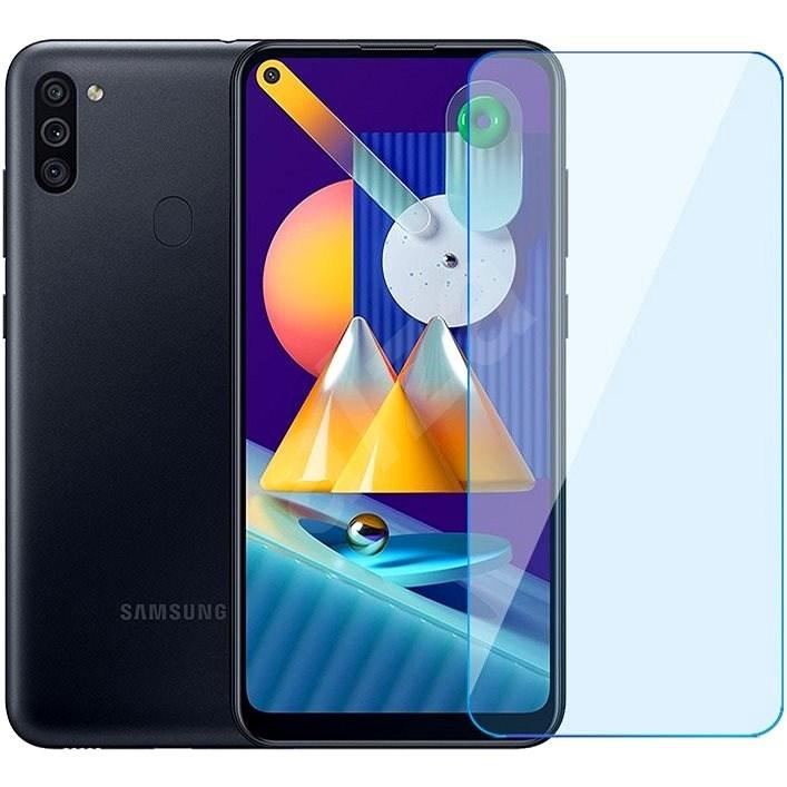 iWill Anti-Blue Light Tempered Glass Samsung Galaxy M11 készülékhez - Képernyővédő