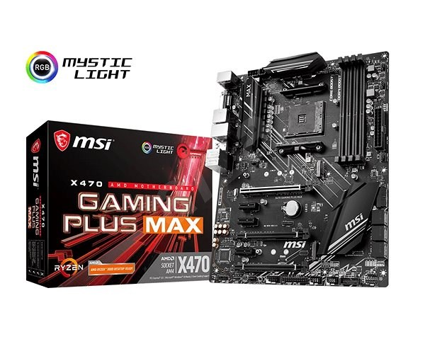 MSI X470 GAMING PLUS MAX - Alaplap
