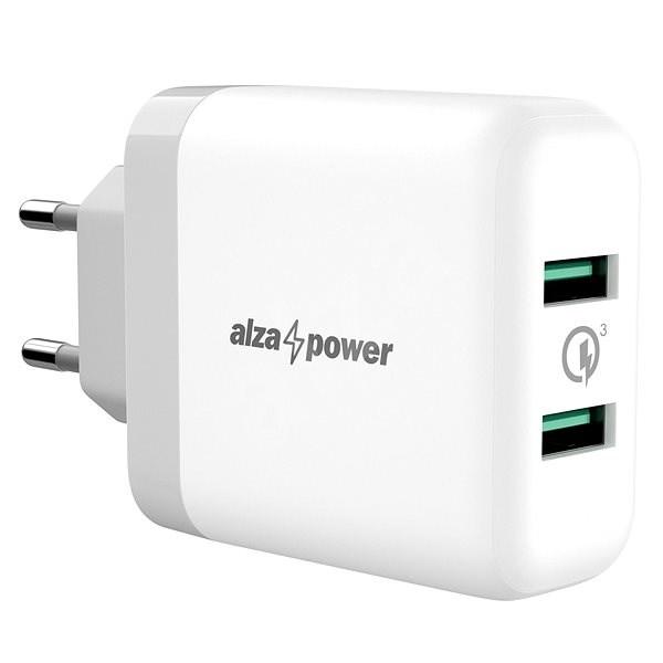 AlzaPower Q200 Quick Charge 3.0 fehér - Hálózati adapter