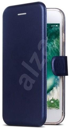 ALIGATOR BOOK S6000 Duo kék színű mobiltelefon tok - Mobiltelefon tok