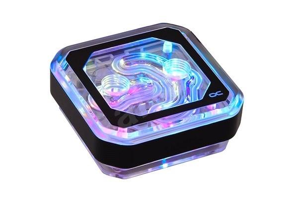 Alphacool Eisblock XPX Aurora Plexi Digital RGB - fekete - Processzor vízhűtés