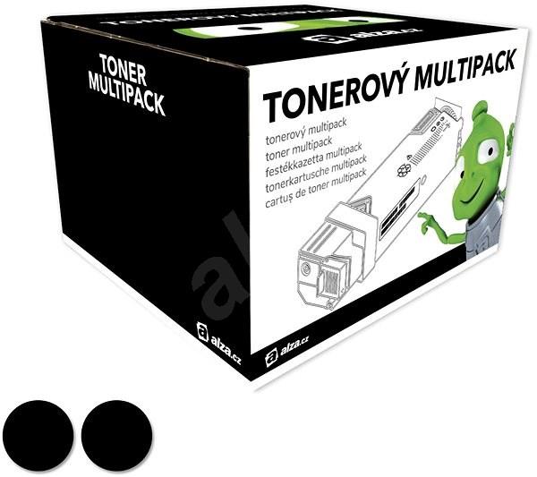 Alza 46508712 DualPack 2 db, fekete - OKI nyomtatókhoz - Utángyártott toner