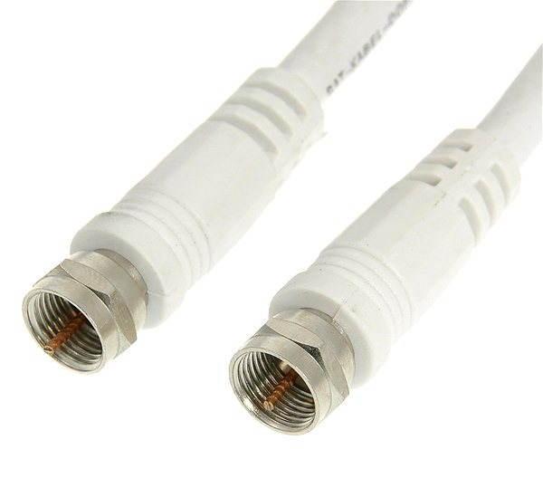Koaxiális kábel F csatlakozó 10 m - Antennakábel