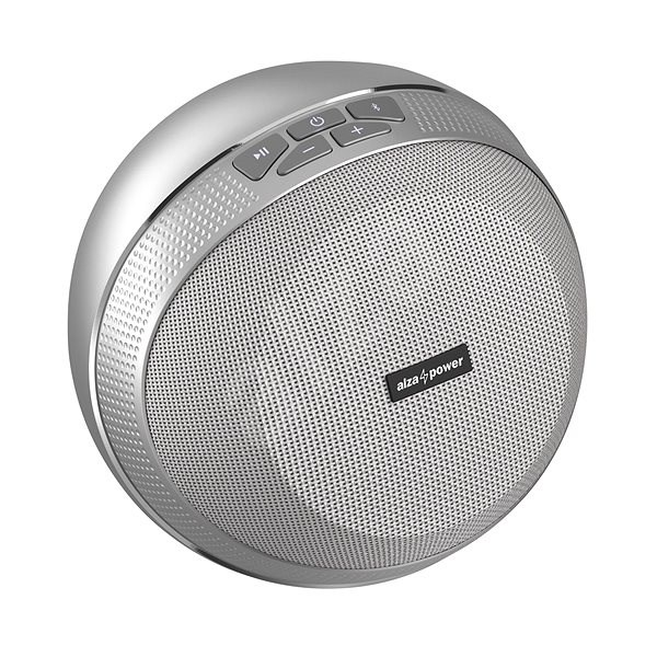 AlzaPower VORTEX V2 silver - Bluetooth hangszóró