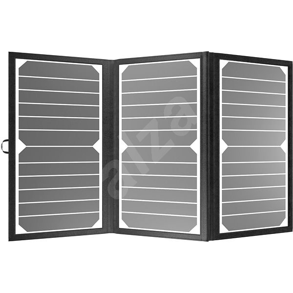 AlzaPower MAX-E 21W fekete - Napelem
