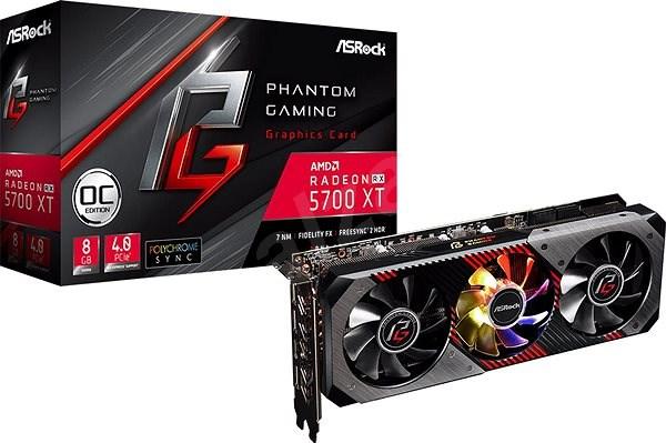 ASROCK Radeon RX 5700 XT Phantom Gaming D 8G OC - Videokártya