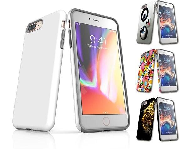 7fb77fc00164 Egyedi stílusú Skinzone Tough védőburkolat APPLE iPhone 8 Plus - Védőtok a  saját stílusodban