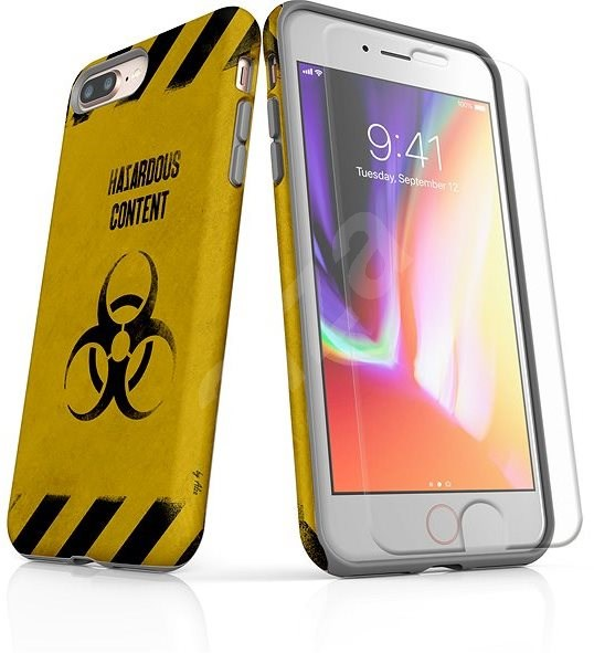 dcae78a0677c Skinzone Tough Style az iPhone 8 Plus-hoz SLVS0009 Saját kockázatra - Alza  védőtok
