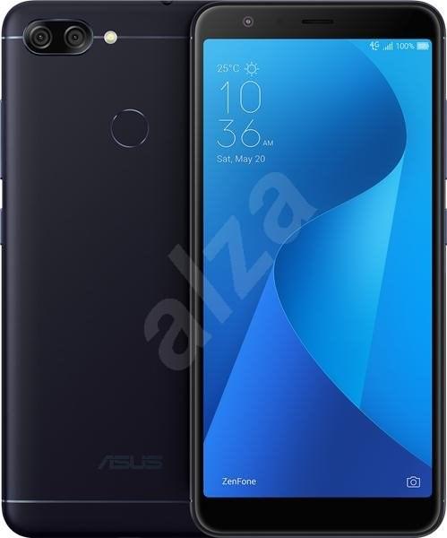 ASUS Zenfone MAX Plus ZB570TL fekete - Mobiltelefon