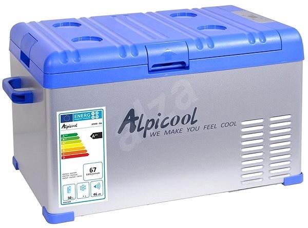 Alpicool Hűtőláda kompresszorral 30 l 230/24/12V -20°C - Autós hűtőtáska