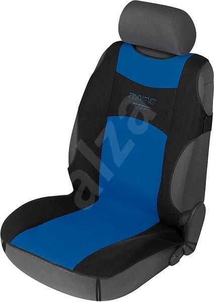 Walser Tuning Star fekete / kék - Autós üléshuzat