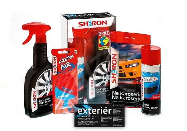 SHERON Exteriőr ajándékszett - Autóápolási készlet