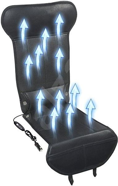 COMPASS STRICK AIR Üléshuzat ventilációval 12V - fekete - Huzat