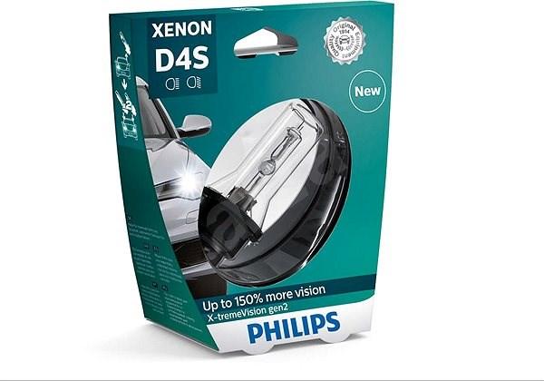PHILIPS Xenon X-tremeVision D4S 1 db - Xenon izzó