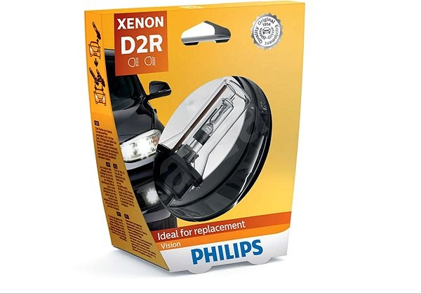 PHILIPS Xenon Vision D2R 1 db - Xenon izzó