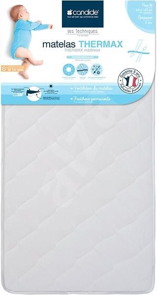 CANDIDE Therma matrac 60 × 120 × 11 cm - Matrac kiságyba