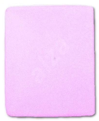 New Baby vízálló lepedő 120 × 60 cm lila - Ágynemű gyermekágyba