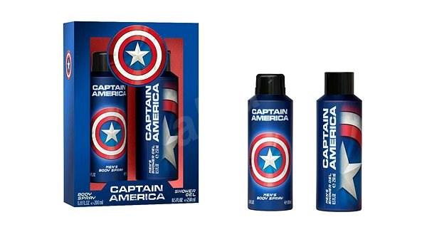AIRVAL Captain America Set 450 ml - Ajándékcsomag