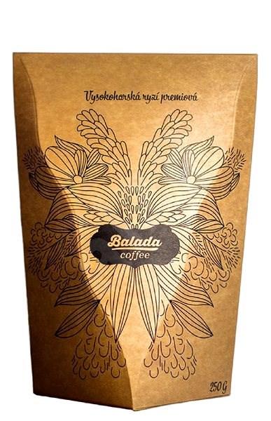 Balada Coffee Jamaica, zrnková káva, 125g - Kávé