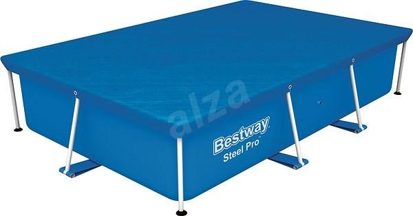 BESTWAY Flowclear Pool Cover 2,59m x 1,70m - Medencefedő fólia