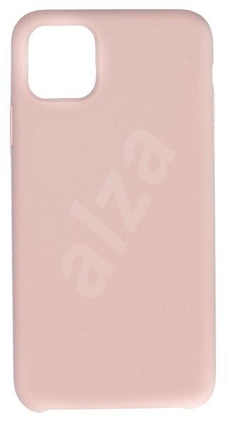 C00Lcase iPhone 11 Pro Max Liquid Silicon Case, rózsakvarc - Mobiltelefon hátlap