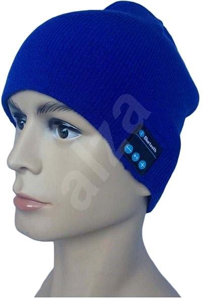 Bluetooth téli sapka - kék - Sapka  02898af642