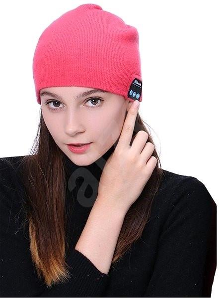 Bluetooth téli sapka - rózsaszín - Sapka  4c50009a57