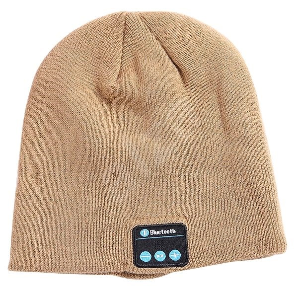 Bluetooth téli sapka - khaki - Sapka  3daa0a90f4