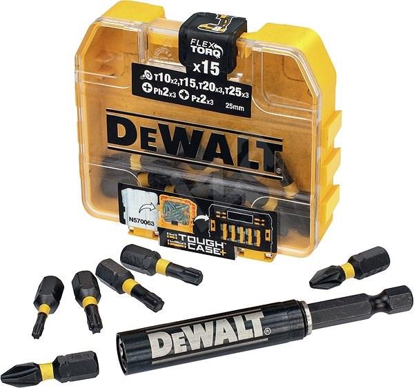 DeWalt DT70577T-QZ - Bitfej készlet