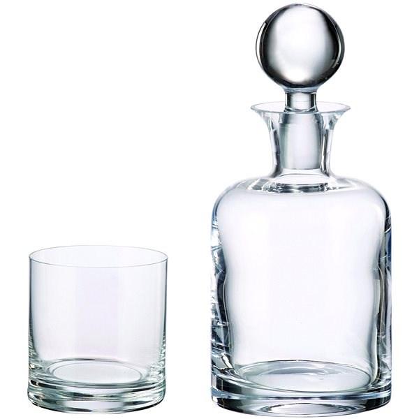 Bohemia Royal Crystal Whisky készlet, 7 db, BOHEMIA - Whisky szett