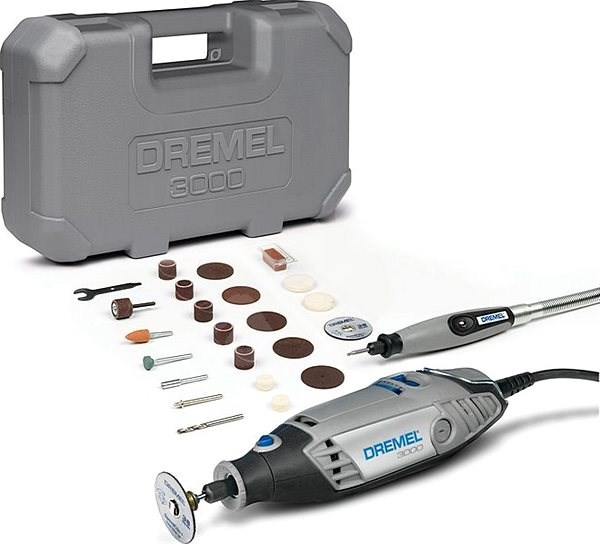 DREMEL 3000 Series EZ Wrap case - Egyenes csiszoló