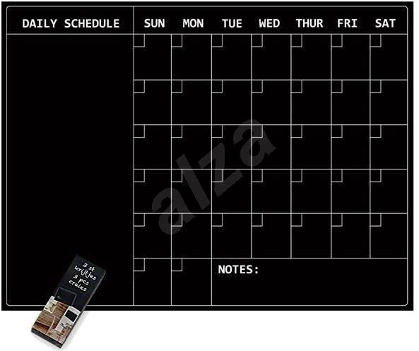 Sticky asztal - naptár kréta - Kreatív szett