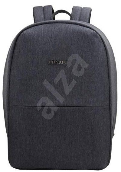 "BESTLIFE Travel Safe 15.6"", szürke - Laptop hátizsák"