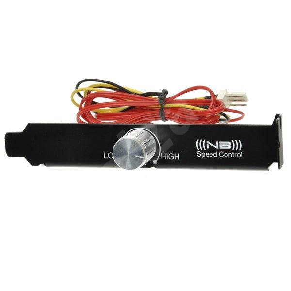 NB Fanspeed Controller Retail 7-12V with black pci slot bezel - Speed Controller
