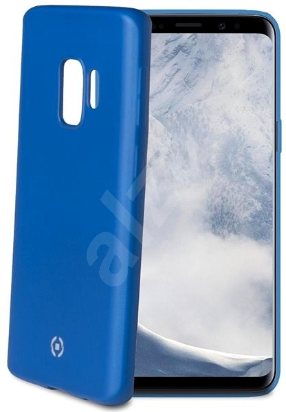 CELLY SoftMatt tok Samsung Galaxy S9 telefonhoz kék - Mobiltelefon hátlap