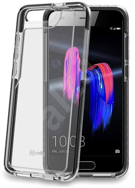 CELLY Hexagon Honor 9 készülékhez, fekete - Mobiltelefon hátlap