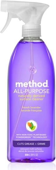 METHOD Univerzális tisztítószer- levendula, 828 ml - Öko tisztítószer