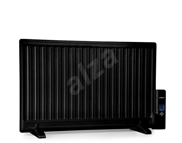 oneConcept Wallander 800 W, fekete - Elektromos radiátor