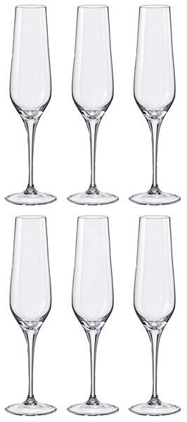 Crystalex REBECCA 6 db 195 ml pezsgős pohár - Pezsgőspohár