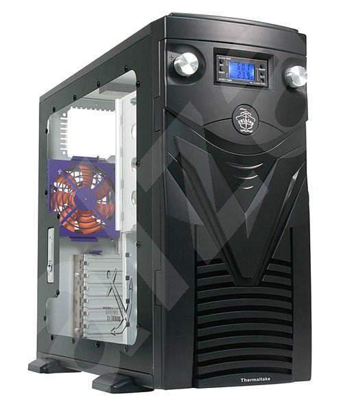"Thermaltake SViking VA4000 BWS - černý (black), ATX, middle tower, 4x5.25"", 1+5x3.5"", hliník, průhle -"
